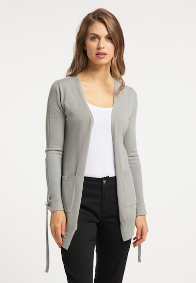 usha BLACK LABEL Cardigan in grau, Modelansicht