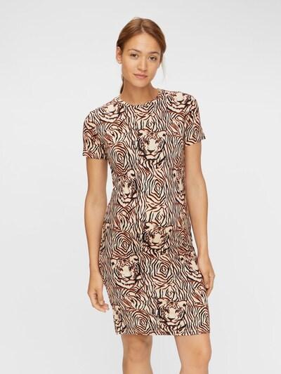 MAMALICIOUS Kleid in braun / schwarz, Modelansicht