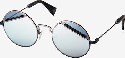 Yohji Yamamoto Eyewear Sonnenbrille YY7029-913 in silber, Produktansicht