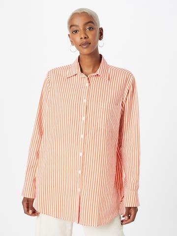 Camicia da donna 'Gane' di Motel in arancione