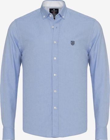 Jimmy Sanders Hemd in Blau