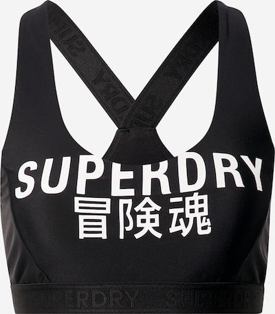 Superdry Bikini zgornji del | črna / bela barva, Prikaz izdelka