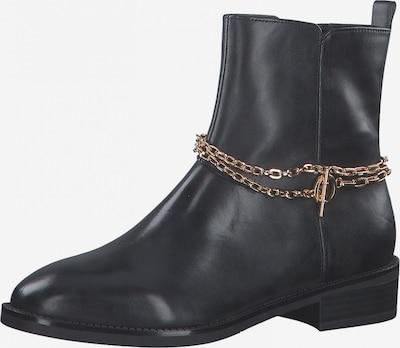TAMARIS Stiefelette in bronze / schwarz, Produktansicht