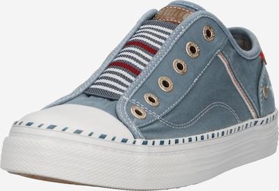 MUSTANG Slip on boty - chladná modrá / červená / bílá, Produkt