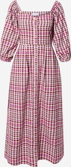 Hofmann Copenhagen Kleid 'Ameline' in dunkelblau / pink / hellpink / rot / weiß, Produktansicht