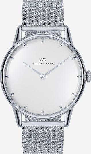 August Berg Uhr Serenity Sky Blue Silver Dot Silver Mesh 32mm in grau / silber / weiß, Produktansicht