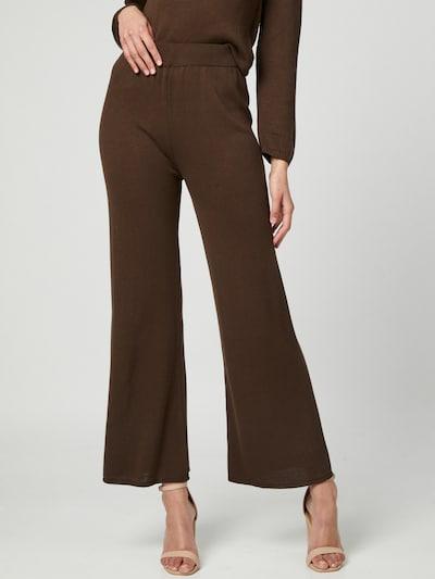 Liz Kaeber Trousers in Brown, View model