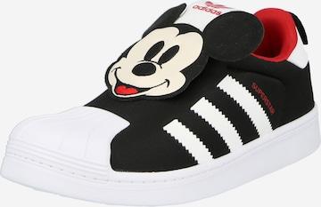 Baskets 'Disney Superstar' ADIDAS ORIGINALS en noir