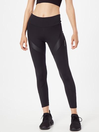 ESPRIT SPORT Sportske hlače 'PER' u crna / bijela, Prikaz modela