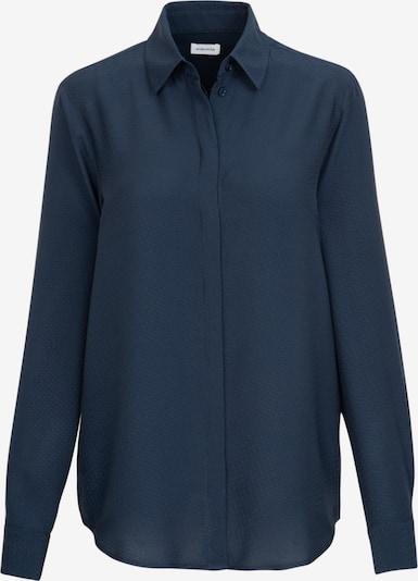 SEIDENSTICKER Hemdbluse 'Schwarze Rose' in dunkelblau, Produktansicht