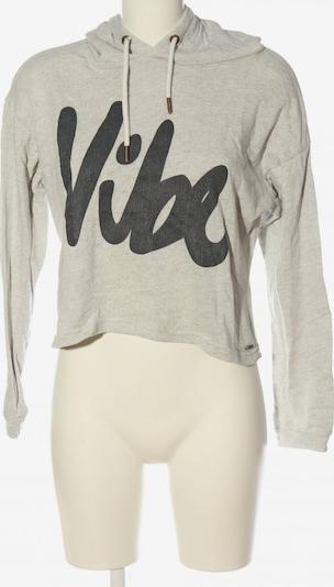 America Today Kapuzensweatshirt in L in schwarz / wollweiß, Produktansicht