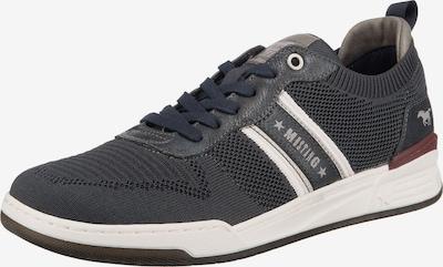 MUSTANG Sneakers in dunkelblau / weiß, Produktansicht