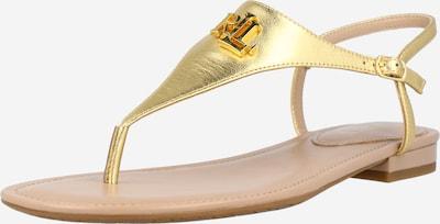 Lauren Ralph Lauren Japanke 'ELLINGTON' u zlatna, Pregled proizvoda