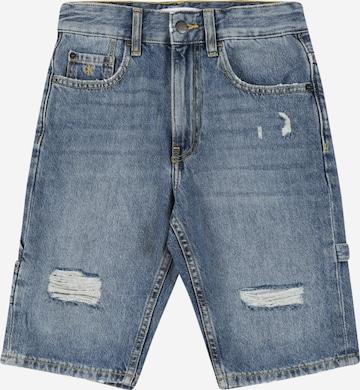 Calvin Klein Jeans Shorts in Blau
