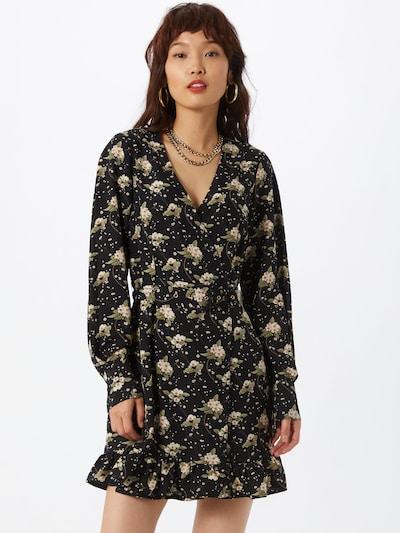 Fashion Union Kleid 'Trayley' in mischfarben / schwarz, Modelansicht