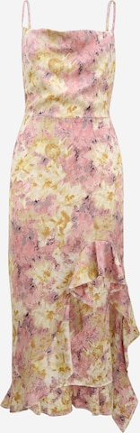 Missguided Petite Cocktail Dress in Pink