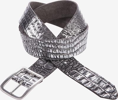 CIPO & BAXX Ledergürtel in schwarz, Produktansicht