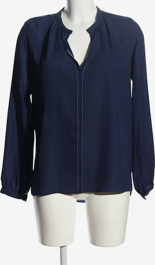 SINGLE Langarm-Bluse in S in blau, Produktansicht