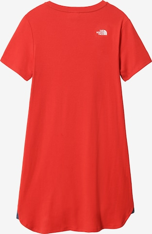 THE NORTH FACE Kleid 'SIMPLE DOME' in Rot