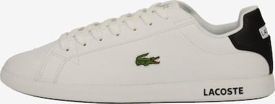 LACOSTE Sneakers laag in de kleur Zwart / Wit, Productweergave