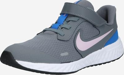 NIKE Sportske cipele 'Revolution 5' u plava / tamo siva / roza, Pregled proizvoda