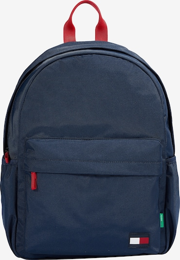 TOMMY HILFIGER Backpack in marine / fire red, Item view