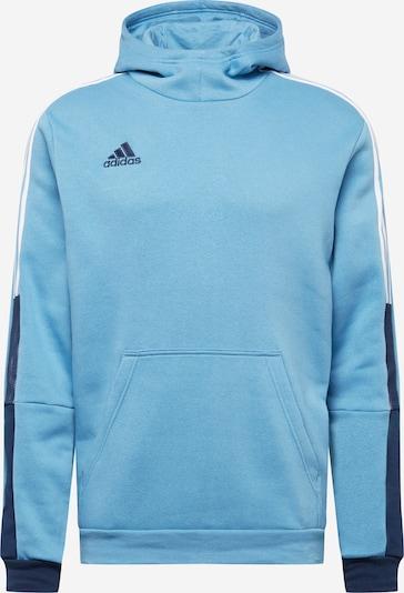 ADIDAS PERFORMANCE Bluzka sportowa 'Tiro 21' w kolorze jasnoniebieski / ciemny niebieski / białym, Podgląd produktu