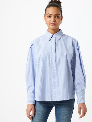 OPUS Bluse 'Fasa' in Blau