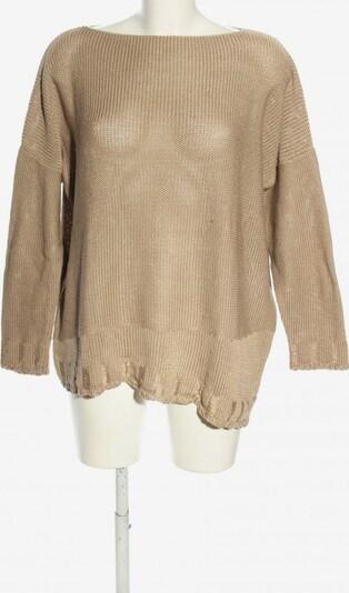 GABI LAUTON Oversized Pullover in XL in gold, Produktansicht