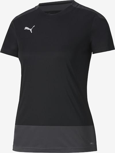 PUMA T-Shirt in anthrazit / schwarz, Produktansicht