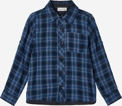 NAME IT Hemd in rauchblau / kobaltblau / himmelblau / grau, Produktansicht
