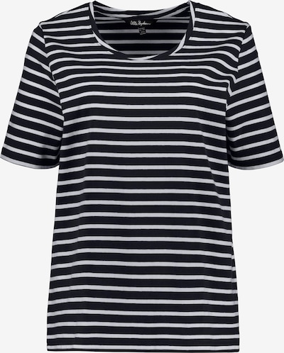 Ulla Popken Shirt in dunkelblau / weiß, Produktansicht