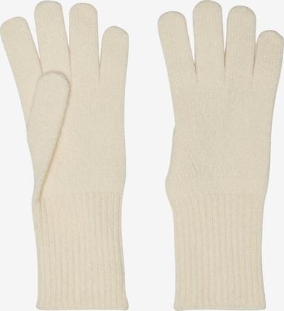 ONLY Γάντια με δάχτυλα 'Astrid' σε λευκό μαλλιού, Άποψη προϊόντος