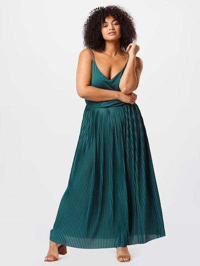 ABOUT YOU Curvy Jurk 'Nadia' in de kleur Petrol, Modelweergave