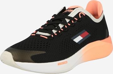 Tommy Sport Athletic Shoes 'ELITE RACER' in Black