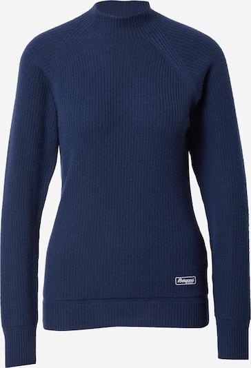 Bergans Sportpullover in dunkelblau, Produktansicht