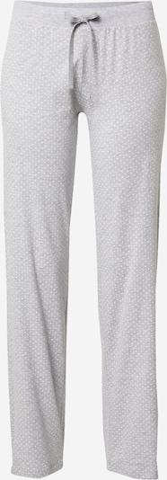 ESPRIT Pyjamahose 'Jordyn' in hellgrau / weiß, Produktansicht