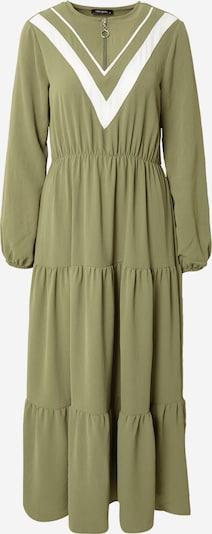 Trendyol Kleid in khaki / weiß, Produktansicht