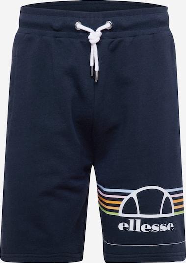 ELLESSE Pantalon 'Aiutarmi' en bleu marine / mélange de couleurs, Vue avec produit