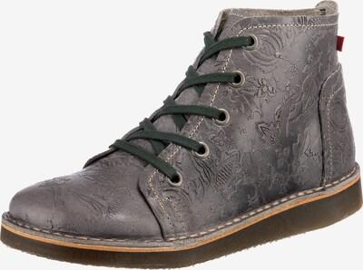 Grünbein Schnürstiefeletten ' Tessa' in grau, Produktansicht