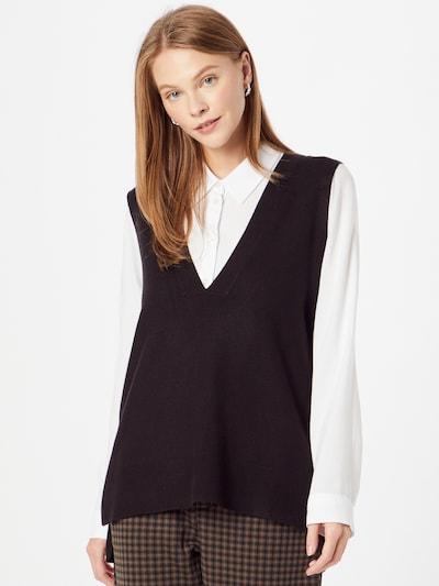ONLY Strickweste 'DALLAS' in schwarz, Modelansicht