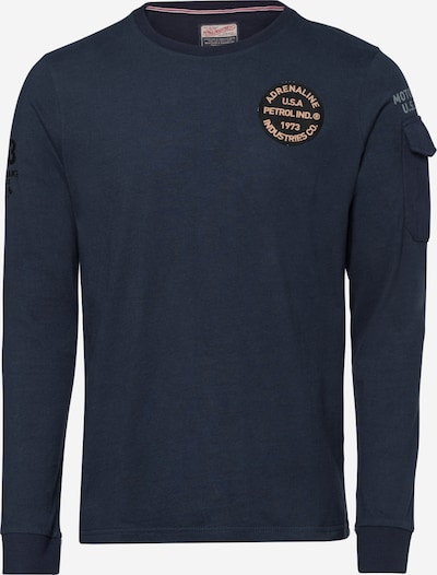 Petrol Industries T-Shirt in navy, Produktansicht