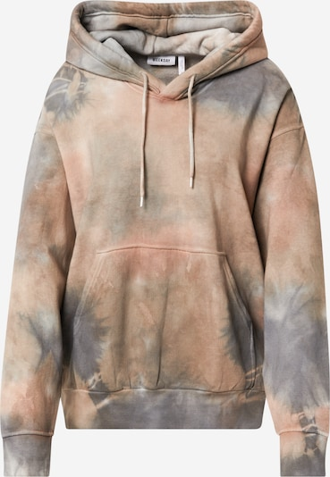 WEEKDAY Sweatshirt 'Alisa' in grau / taupe / altrosa, Produktansicht