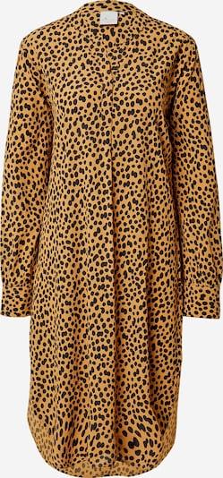 Goosecraft Košulja haljina 'Sabine' u konjak / crna, Pregled proizvoda