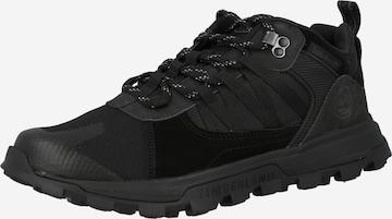 melns TIMBERLAND Sporta apavi ar šņorēm 'Treeline'