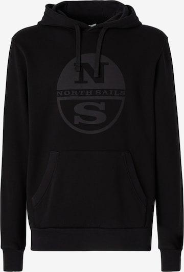 North Sails Hoodie in schwarz, Produktansicht