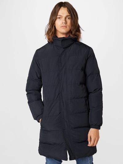 BLEND Mantel in nachtblau, Modelansicht