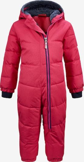 KILLTEC Sportpak 'Twinkly' in de kleur Donkerblauw / Pink: Vooraanzicht