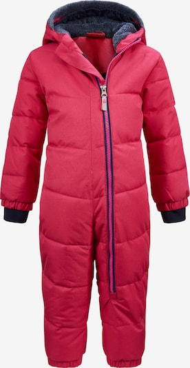 KILLTEC Sportsdragt 'Twinkly' i mørkeblå / pink: Frontvisning