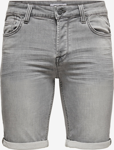 Only & Sons Jeans 'PLY' in de kleur Grey denim, Productweergave